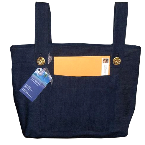 Denim Walker Bag