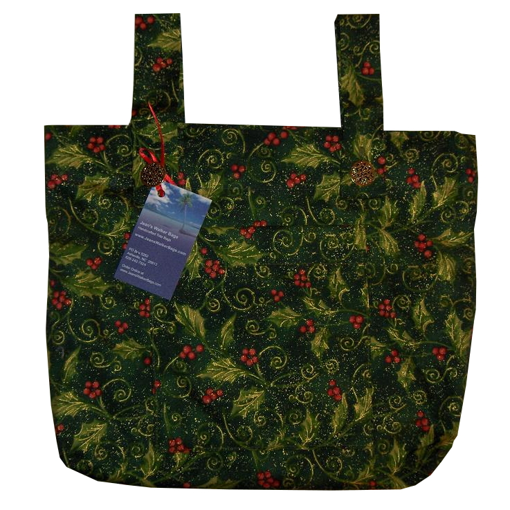 Golden Holly Walker Bag