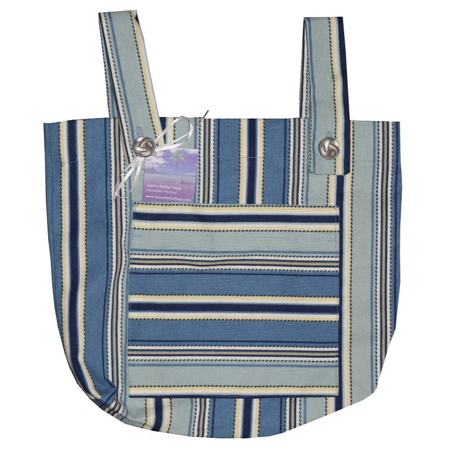 Blue Stripes Walker Bag