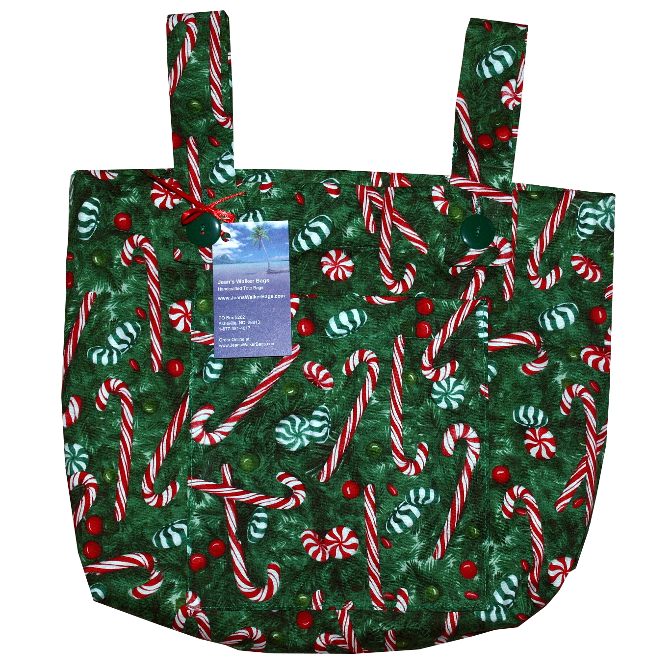 Candy Canes Walker Bag